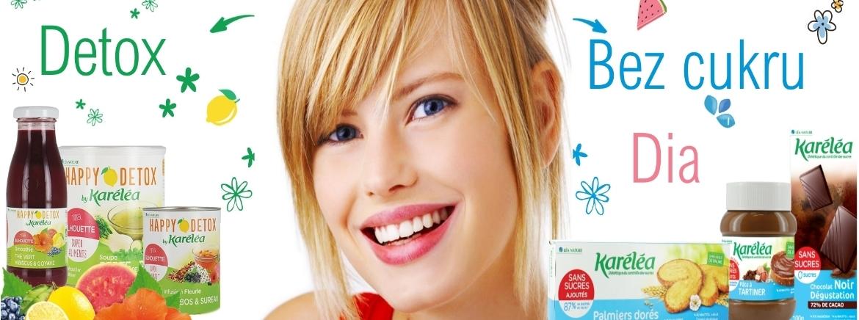 Francouzské výrobky značky Karéléa jsou chutné výrobky bez cukru vhodné při hubnutí a pro diabetiky.